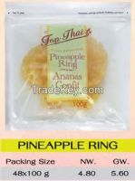 Thai fruit, Dehydrated Pineapple Ring