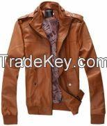 Leather Fashion Jacket For Men