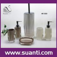 High quality resin bathroom set , bathroom accessories