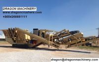 Portable crushing plant dragon crusher for sale