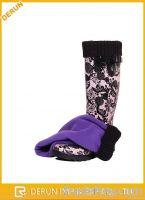 winter wamer fleece sock