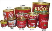 High Quality Tomato Paste, Ketchup, Tomato Sauce 28-30%,30-32%,36-38%