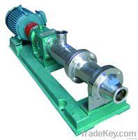 sanitary single screw pump
