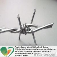 High quality barbed wire (factory)