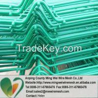 high quality curvy welded fence
