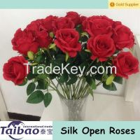Artificial rose to make centrepieces for weddings