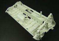 Bracket mold for printer