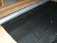 three layers  silver&black plastic agriculture mulch film