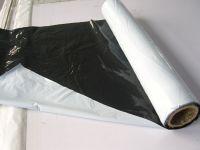 three layers pe white&black  agriculture mulch film