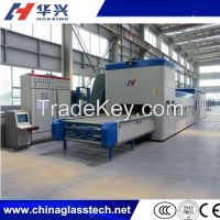 CE-approved Control Forced Convection glass tempering machine