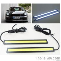 Waterproof 12V LED COB Car DRL Driving Daytime Running Light