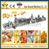 Snack food processing line, snack food machine for many shapes