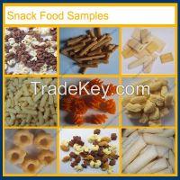Semi autmatic snack food machine puff corn extruder