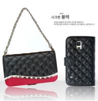 Sdiary Genuine leathere mobile phone case wallet type