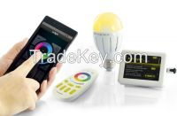 WIFI smart wireless RGB color changing light bulb