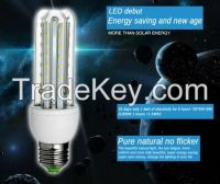Super Bright E27 3U 9W 3014SMD LED Saving Corn Light Bulb