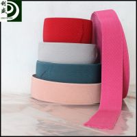 custom  plain dyed elastic