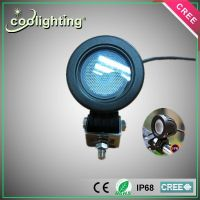 China supplier,10W 12V CREE car light with flood light