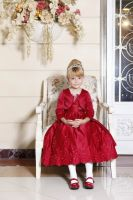 2014 Wholesale Girl Dress with Embroidery Design High Quality