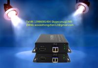 4K HDMI fiber optic extender, support  HDMI 1.4 and 3D video signal 10KM transmission, maximum resolution: 4096 × 2160 @ 30HZ
