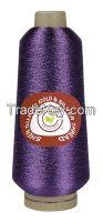 J-type metallic yarn sewing