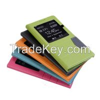 Leather case for Samsung mobiles