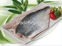 Pangasius fillets, steak, breaded, rolls,