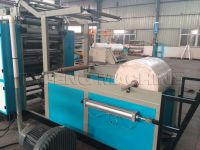 Facial tissue machine with