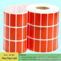 Manufacturer of Glossy Coated Paper Roll Label