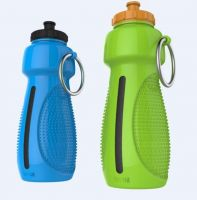 Food Grade Collapsible Silicone Water Bottle