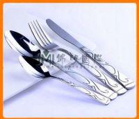 Cuchillo, Cuchara tenedor de acero inoxidable #410
