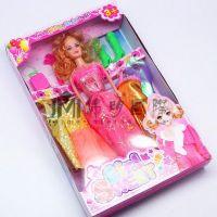 """12.5"""" Muneca Barbie plastico, el ultimo diseno color surtido, ISO9001 certificado"""