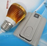 3W Energy-saving�LED Bulb Lamp with optional RF remote control