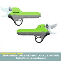 Electric pruning shear and electric pruner