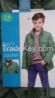 Boys Quilted Coat