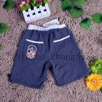 100% polyester Children pant boy summer casual short full customization