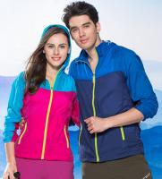 Mens outwear suntan-proof wear UV-protection wear breathable windbreaker