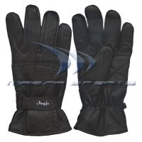 Leather Winter Fashion Gloves