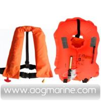 Marine Single/Double Air Chamber Inflatable Life Jacket SY-A150