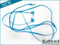 Newest High quality metal Flat wire earphone
