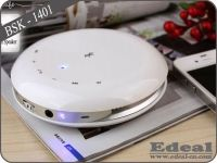 UFO shape mini round wireless bluetooth speaker with touch key