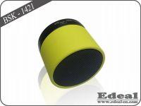 Mini round wireless bluetooth speaker made in china