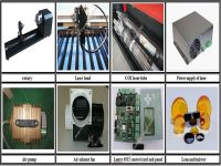 Laser cutting and engraving machine on hot sale