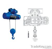 Wire rope electric hoist hot sale at 2014