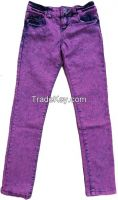 Womens Colored Denim Pant