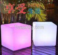 30cm x 30cm x 30 cm Led light cube,RGB Color Changing LED Cube, light cube chair
