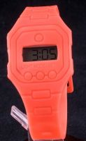 silicone digital watches