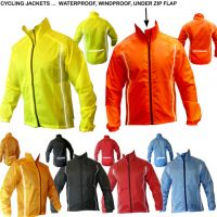 Cycling jacket wear & Rain jacket wear