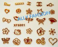 3D Nail sticker,3D nail art,nail beauty, more than 1000designs nail stickers