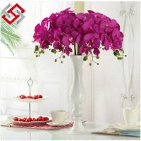Artificial Home Decorative PU Material High Quality Butterfly Orchid